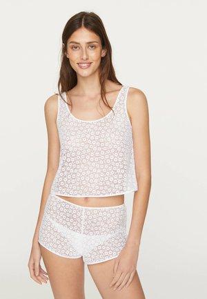 DITSY FLORAL 30212316 - Pyjama top - white