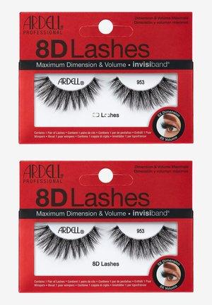 8D LASHES 2ER PACK - False eyelashes - 953