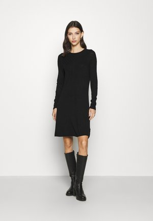 ONLSELINA DRESS - Strikkjoler - black