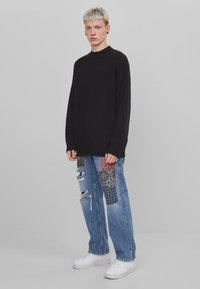 Bershka - Jeans baggy - blue denim - 1