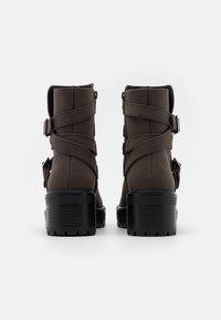 Even&Odd - Winter boots - dark brown - 3