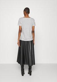 Anna Field - Basic T-shirt - mottled grey - 2