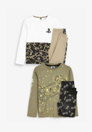 2 PACK FLURO PLAYSTATION - Pyjama set - green