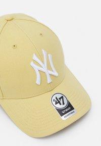 '47 - NEW YORK YANKEES SNAPBACK UNISEX - Cap - light gold - 3