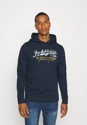 JPRBLUBOOSTER HOOD  - Sweatshirt - navy blazer