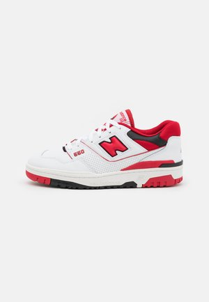 550 UNISEX - Trainers - white/red