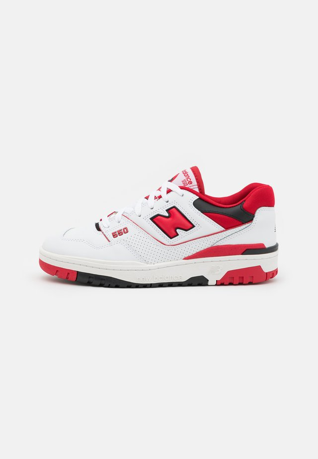 550 UNISEX - Sneakersy niskie - white/red