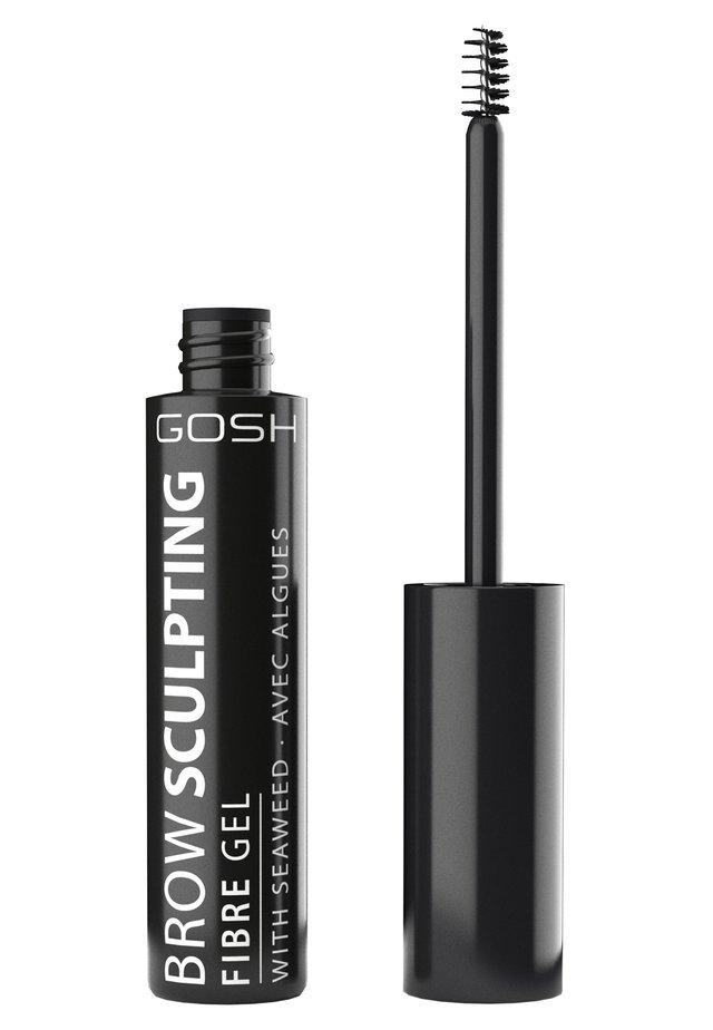 BROW SCULPTING FIBRE GEL - Eyebrow gel - 001 nutmeg