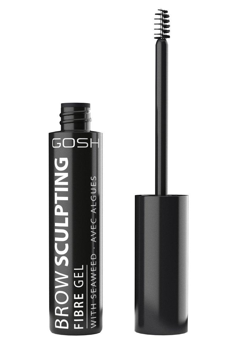 Gosh Copenhagen - BROW SCULPTING FIBRE GEL - Eyebrow gel - 001 nutmeg