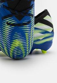 adidas Performance - NEMEZIZ .1 FG UNISEX - Moulded stud football boots - royal blue/solar yellow/core black - 5