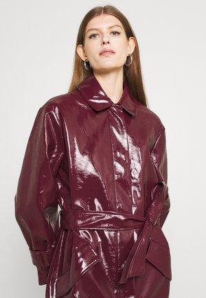 JOURNI COAT - Manteau classique - tawny port red