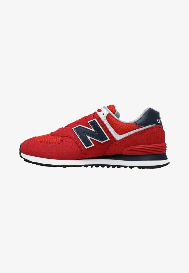 Sneakers laag - team red