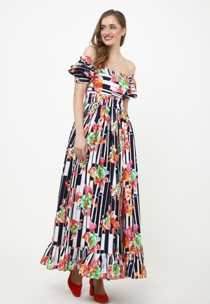 FEDERIKA - Maxi-jurk - blau/rosa