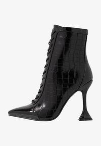 BEBO - KEONA - High heeled ankle boots - black - 1