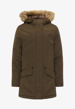 Winter coat - deep tobacco