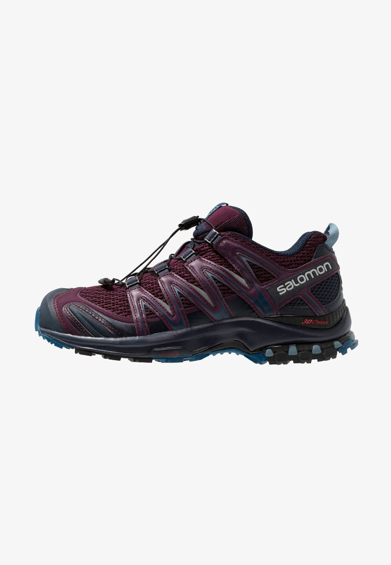 Salomon - XA PRO 3D - Trail running shoes - potent purple/navy blazer/bluestone