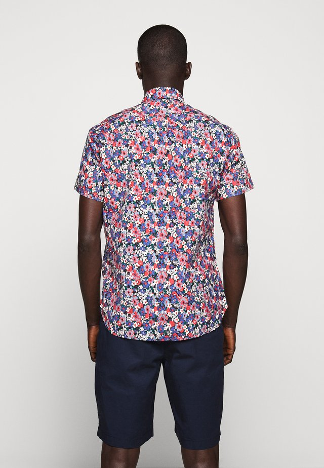 SPRINGFIELD FLORAL - Camicia - sage red