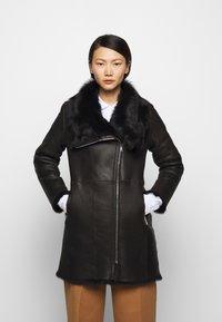 STUDIO ID - CLASSIC COAT - Winter coat - black - 0
