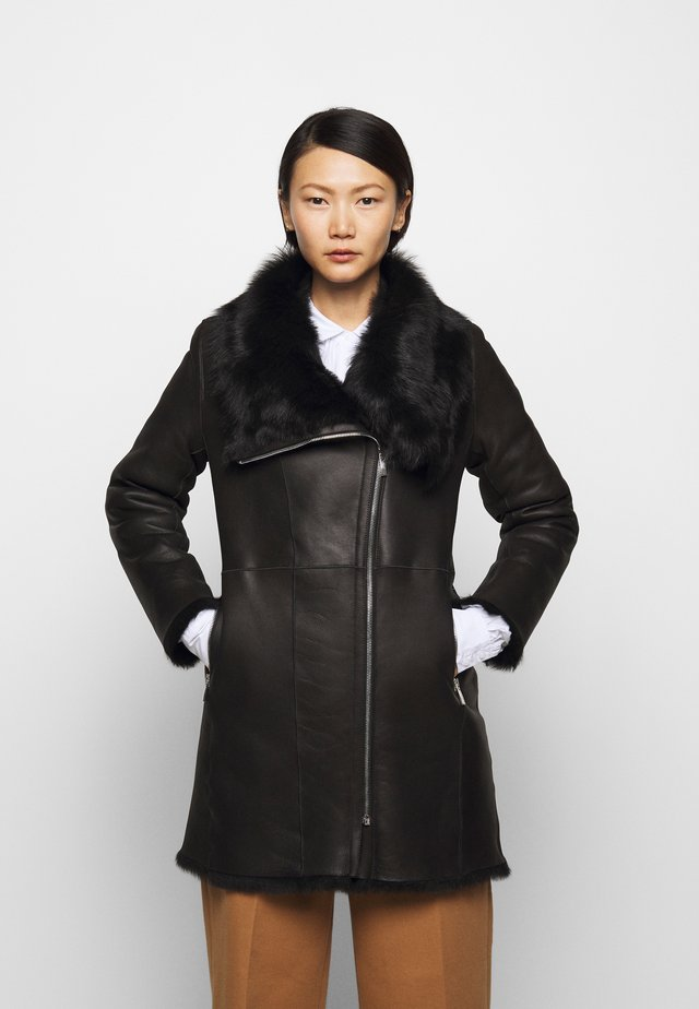 CLASSIC COAT - Wintermantel - black