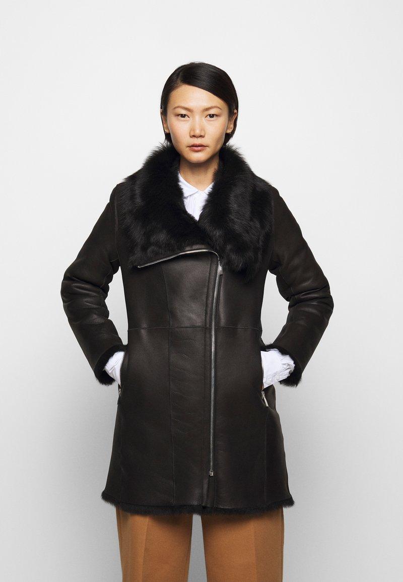 STUDIO ID - CLASSIC COAT - Winter coat - black