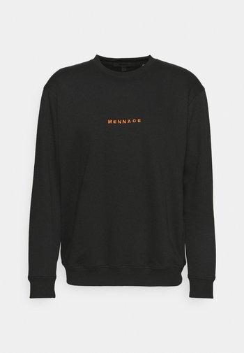 ESSENTIAL REGULAR UNISEX - Sweater - black