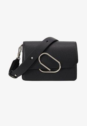 ALIX MINI SHOULDER BAG - Taška spříčným popruhem - black