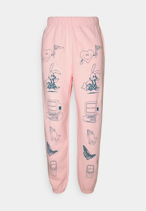 CLIP ART  - Tracksuit bottoms - pink