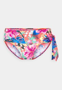 Pour Moi - HEATWAVE FOLD OVER TIE BRIEF - Bikini bottoms - barbados - 0