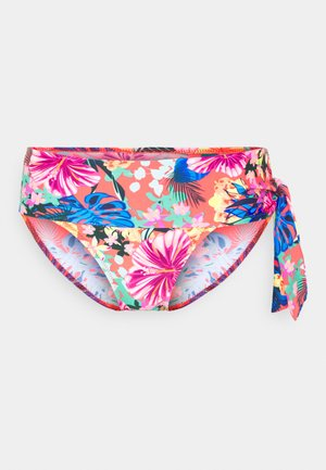 HEATWAVE FOLD OVER TIE BRIEF - Bikini bottoms - barbados