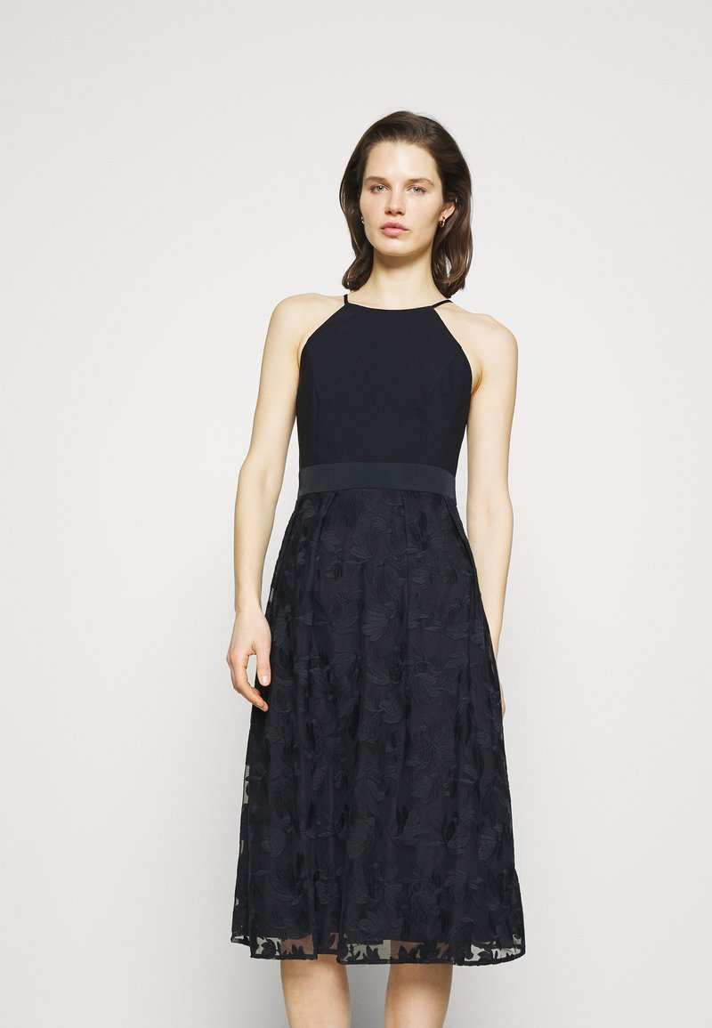 Esprit Collection - DRESS - Cocktail dress / Party dress - navy