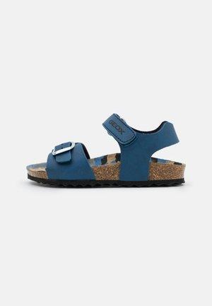 GHITA BOY - Sandals - avio/black