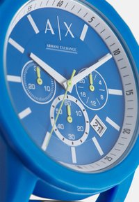 Armani Exchange - OUTERBANKS - Chronograph watch - blue - 3