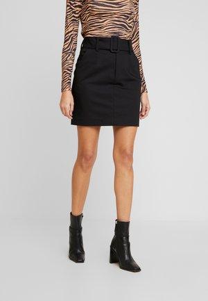 KASSIA - Pouzdrová sukně - black