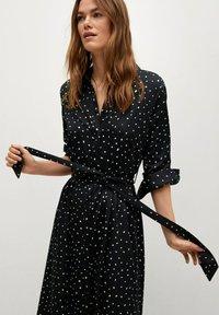 Mango - Shirt dress - zwart - 3