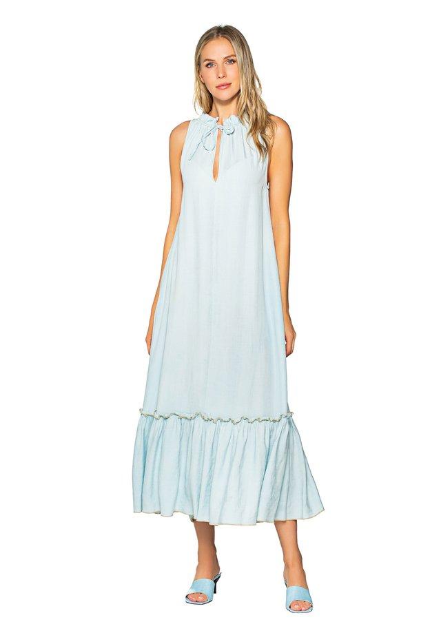 Korte jurk - bleach wash