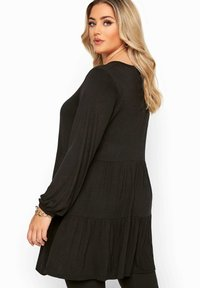 Yours Clothing - Long sleeved top - black - 2