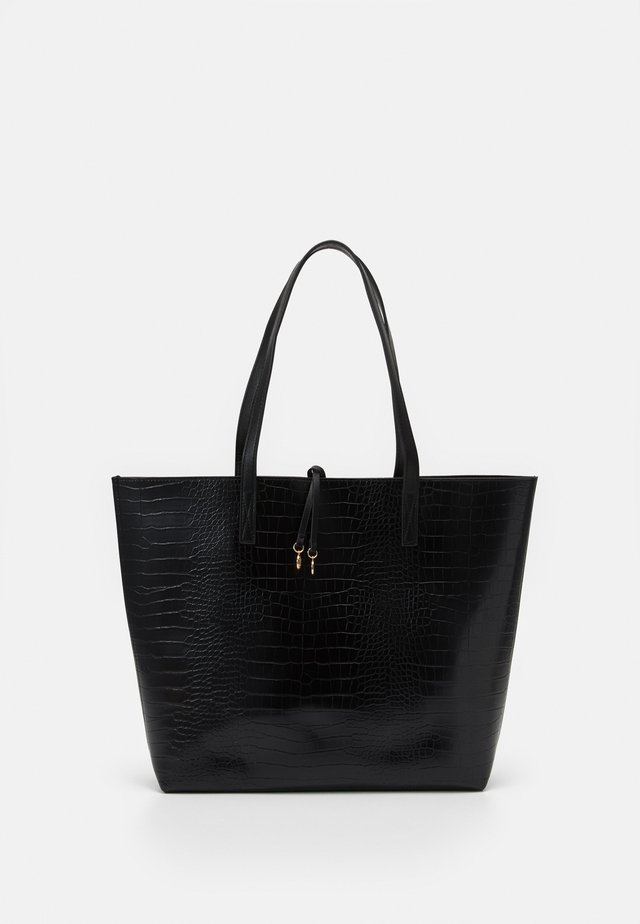 CLEAN TOTE - Shoppingväska - black