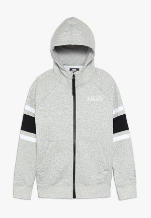 AIR  - Zip-up hoodie - dark grey heather/black