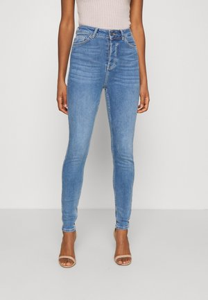 OBJKELLY HARPER  - Jeans Skinny Fit - medium blue