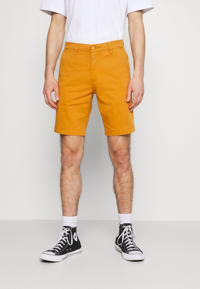 XX CHINO TAPER SHORT II - Kraťasy - yellows/oranges