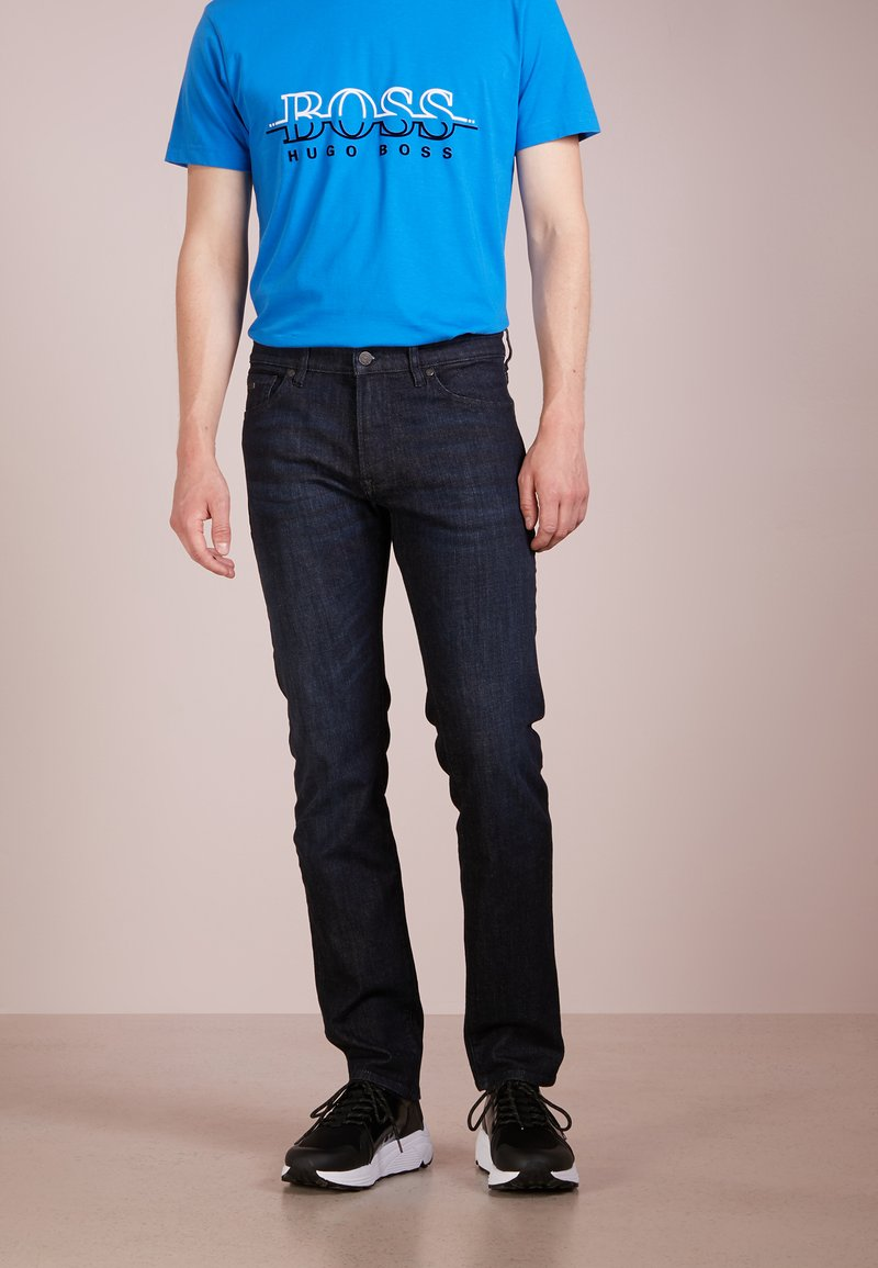 BOSS - MAINE - Straight leg jeans - navy