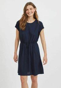 Vila - VIMOONEY STRING - Jersey dress - navy blazer - 0