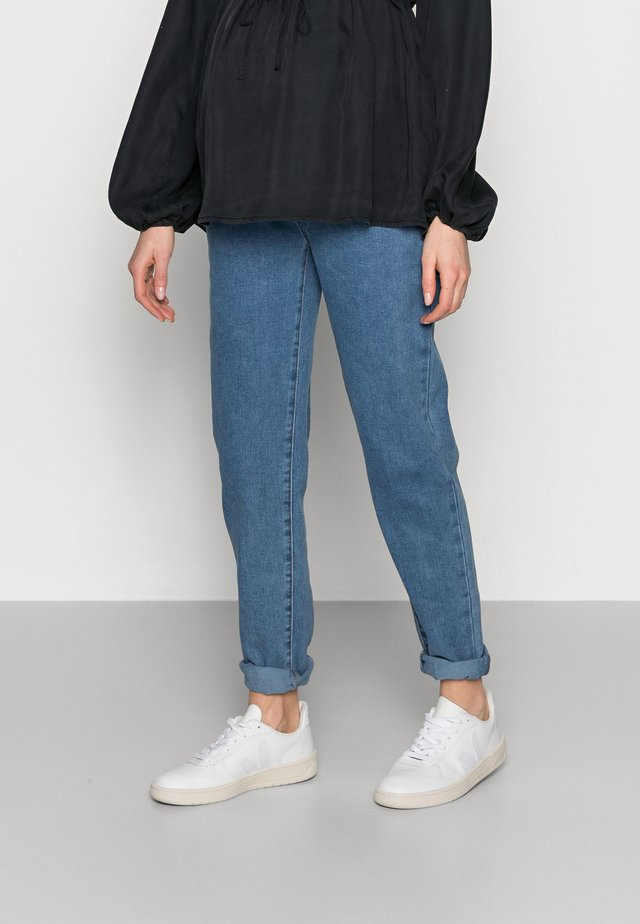 RIOT COMFORT STRETCH - Jeans Tapered Fit - black