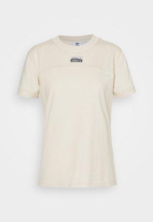 TEE - T-shirt imprimé - beige