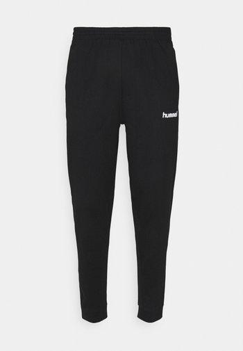 GO PANT - Tracksuit bottoms - black