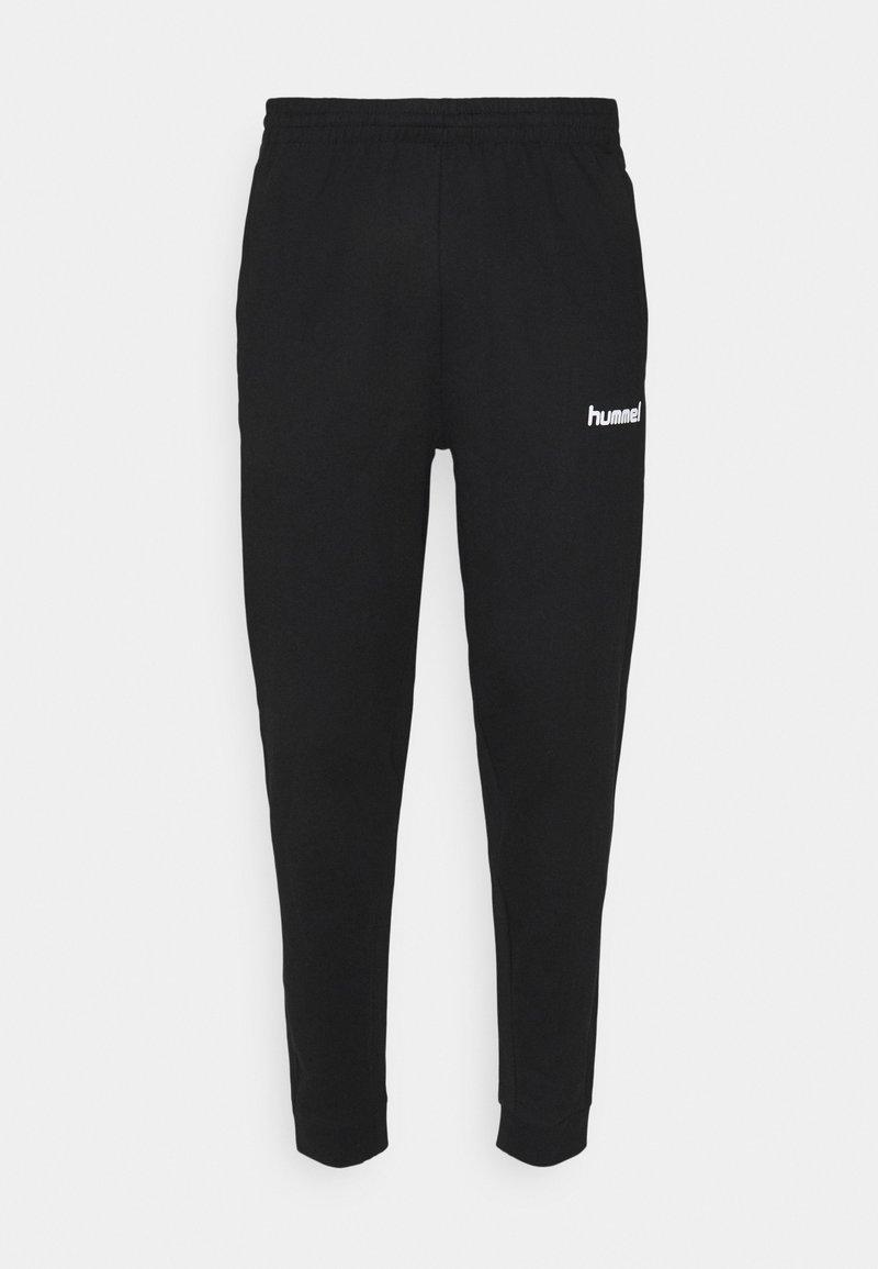 Hummel - GO PANT - Verryttelyhousut - black