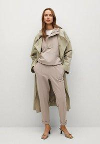 Mango - FLORIDA - Teplákové kalhoty - gris claro/pastel - 1