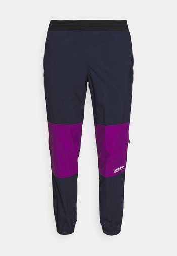 WOVEN PANTS - Pantaloni sportivi - legend ink/glory purple