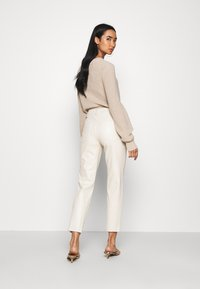 ONLY - ONLEMILY - Trousers - creme - 2