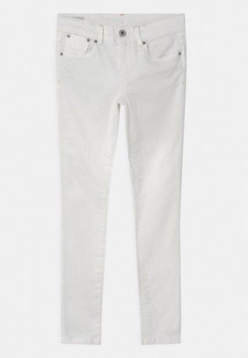 PIXLETTE - Jeans Skinny Fit - white denim